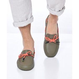 "NWT Waterproof Loafers - ""Catamara Fluo"" Khaki"